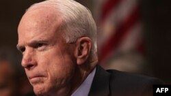 U.S. Senate Armed Services Committee Chairman John McCain