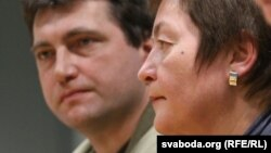 Андрэй Бастунец і Жанна Літвіна