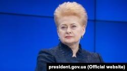Litvaniya prezidenti Dalâ Gribauskayte