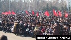 Оппозициянын Оштогу митинги. 1-март, 2013-жыл