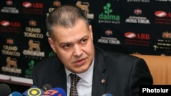 Davit Harutiunian, the ruling coalition in Armenia's chief negotiator