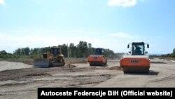 Gradnja autoputa u BiH na koridoru Vc