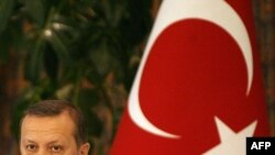 Turkey -- Prime Minister Recep Tayyip Erdogan speaks to reporters in Riyadh, 09Mar2010