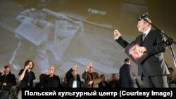 Кшиштоф Герат на церемонии награждения лауреатов Краковского кинофестиваля