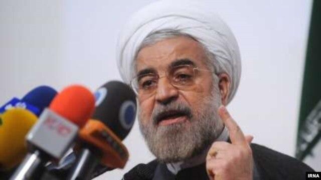 حسن روحانی، رئیس جمهور منتخب در انتخابات یازدهم ریاستجمهوری ایران.