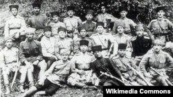 Arxiv foto: AXC ordusunun zabitləri (1918-1920)