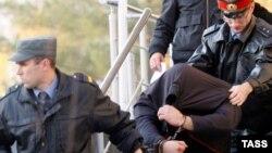 Вячеслав Цеповяз при задержании, 2010 год