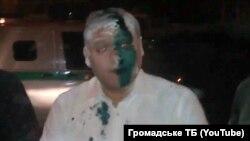 Mykhailo Dobkin sulmohet me sprej...