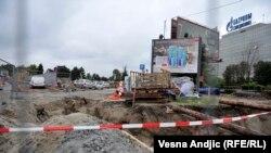 Gradilište umesto Dejtonke