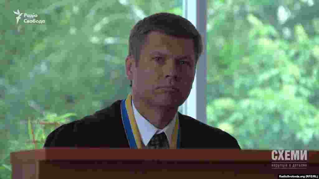 Суддя Олександр Сибіга (Сибіга Олександр Миколайович, Вищий господарський суд України)