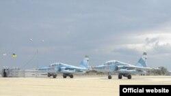 Російські літаки на українському полігоні «НІТКА»