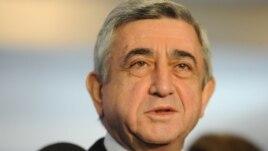 Հայաստանի նախագահ Սերժ Սարգսյան