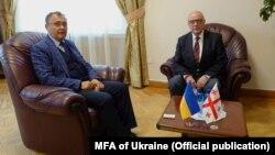 Василий Боднар и Теймураз Шарашенидзе