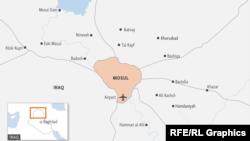 Harta e fshatrave të Mosulit