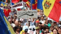 Un nou protest la Chișinău împotriva invalidării alegerilor pentru primărie