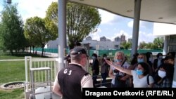 Protest tekstilnih radnika u Nišu