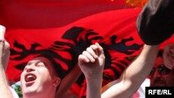 Albanska zstava, fotoarhiv