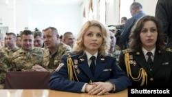 Під час церемонії нагородження президентом Петром Порошенком офіцерів Збройних сил України. Київ, 23 березня 2015 року