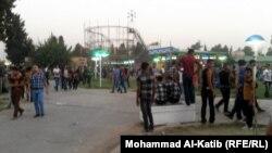 مدينة العاب في الموصل خلال عيد الفطر