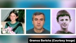 Dafina, Sedat dhe Drilon Berisha - familjarët e Gramozit të vrarë gjatë luftës