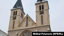 Katedrala Srca Isusova u Sarajevu, foto: Midhat Poturović
