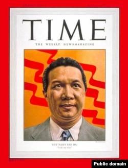 Бао Дай на обложке журнала Time, 1954 год