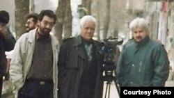 Rza Siami (solda), Həsən Məmmədov (ortada)