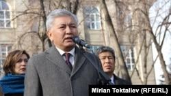 Мэр Бишкека Иса Омуркулов