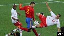 İspaniya-İsveçrə oyunu