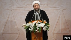 Iranian judiciary chief Sadegh Larijani was born in Iraq but moved to Iran after the 1979 Islamic revolution.