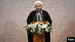 Iranian judiciary chief Sadegh Larijani was born in Iraq but moved to Iran after the 1979 Islamic revolution.