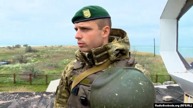 Сергій Сергійчук, начальник відділення прикордонної служби