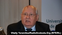 Колишній керівник Радянського Союзу, лауреат Нобелівської премії Михайло Горбачов, Брюссель, 13 жовтня 2011 року