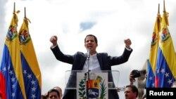 Лидер оппозиции и глава Национальной ассамблеи (парламента) Венесуэлы Хуан Гуайдо объявил себя временным президентом
