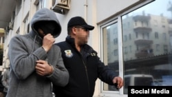 Задержание одного из подозреваемых в причастности к теракту, Анталья, 12 января 2016 г.