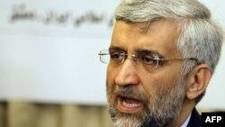 Saeed Jalili - shefi negociator i Iranit
