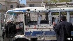 انفجار روز سه شنبه دهها کشته برجای گذاشت. (عکس از EPA)