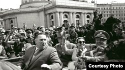 Иосип Броз Тито Ленинградта, 7 июнь 1956