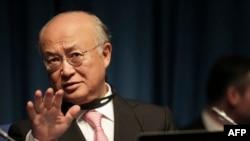 یوکیا آمانو، مدیرکل آژانس بینالمللی انرژی اتمی.