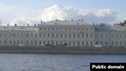Санкт-Петербург мемлекеттік университеті ғимараты.