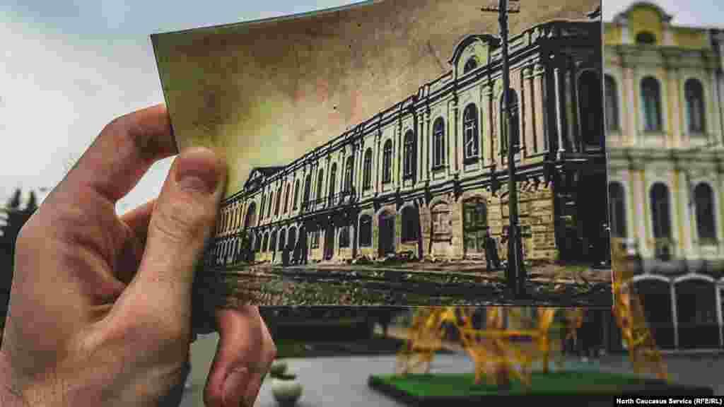 Изначально здание предназначалось для торговцев. На первом этаже были торговые лавки, на втором хранили товар. Сегодня это краеведческий музей. 1872 — Постройка НовогоГостиногоряда 1911 — верхний этаж занял музей наглядных пособий Праве Советское время — музей Праве получилнижниеэтажи здания Сегодня — краеведческий музей