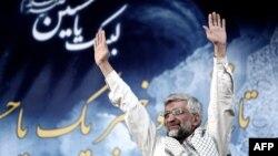 Саид Джалили, один из кандидатов в президенты Ирана. Тегеран, 12 июня 2013 года.
