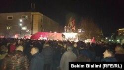 Pamje nga festimet e Vetëvendosjes në Prishtinë