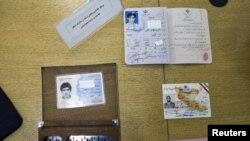 Шпионлыкта гаепләнгән кешеләрнең документлары
