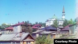 Уфаның 1830нчы елларда төзелгән һәм Үзәк диния идарәсе урнашкан Җәмигъ мәчете, 1910