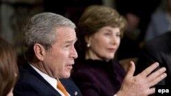 جورج بوش از توافق برسر برنامه هسته ای کره شمالی استقبال کرد