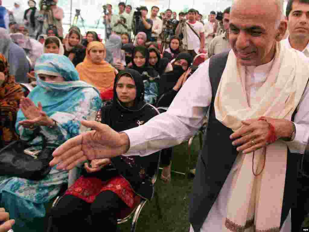 Predsednički kandidat Ashraf Ghani