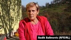 Bosnia and Herzegovina -- Nezira Sulejmanovic, resident of the village Djogazi near the town of Srebrenica, one of the survivors of the Srebrenica genocide, 1November2016