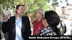 Новиот градоначалник на скопската општина Центар Андреј Жерновски.