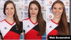 Verena Breit, Vanessa Sahinovic və Luna Pajer